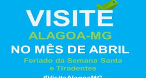 Visite Alagoa MG em Abril
