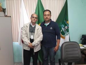 Alexandre Martins, Gerente do SICOOB e Prefeito Juliano