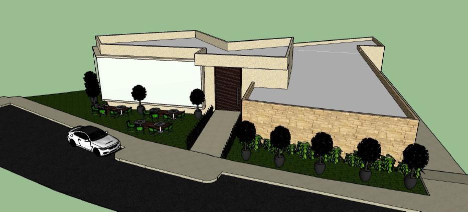 Perspectiva do Complexo que será construído pela Cauré Agronegócios
