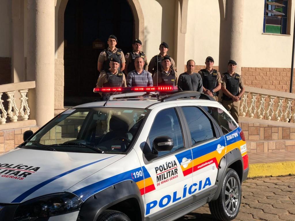 Viatura 0km é entregue à Polícia Militar de Alagoa