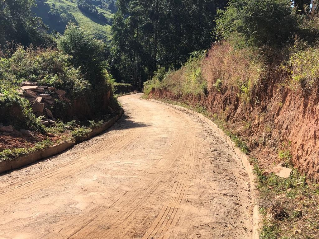 DEPOIS: Obra Concluída - Calçamento Bahia