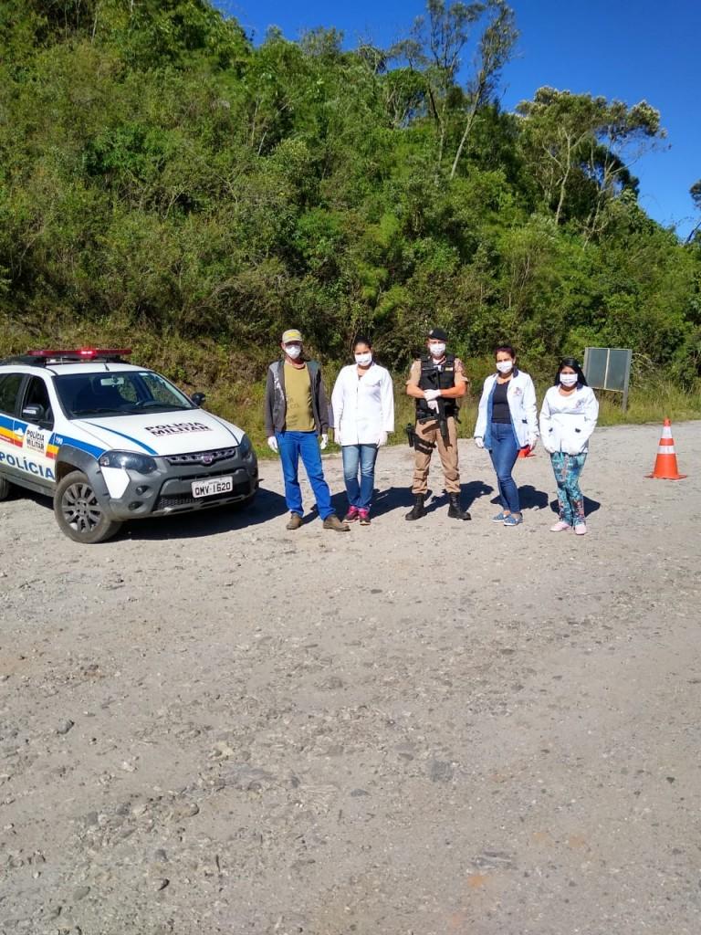 Barreiras sanitárias estão funcionando em Alagoa